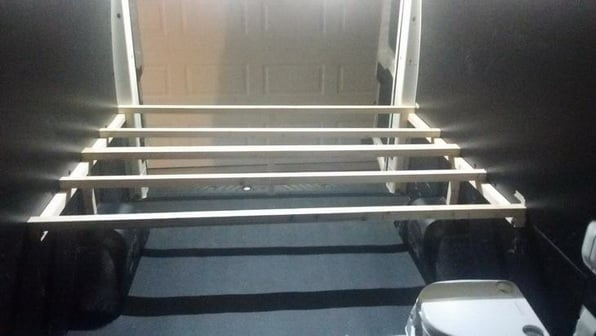 White Turtle III Bed frame