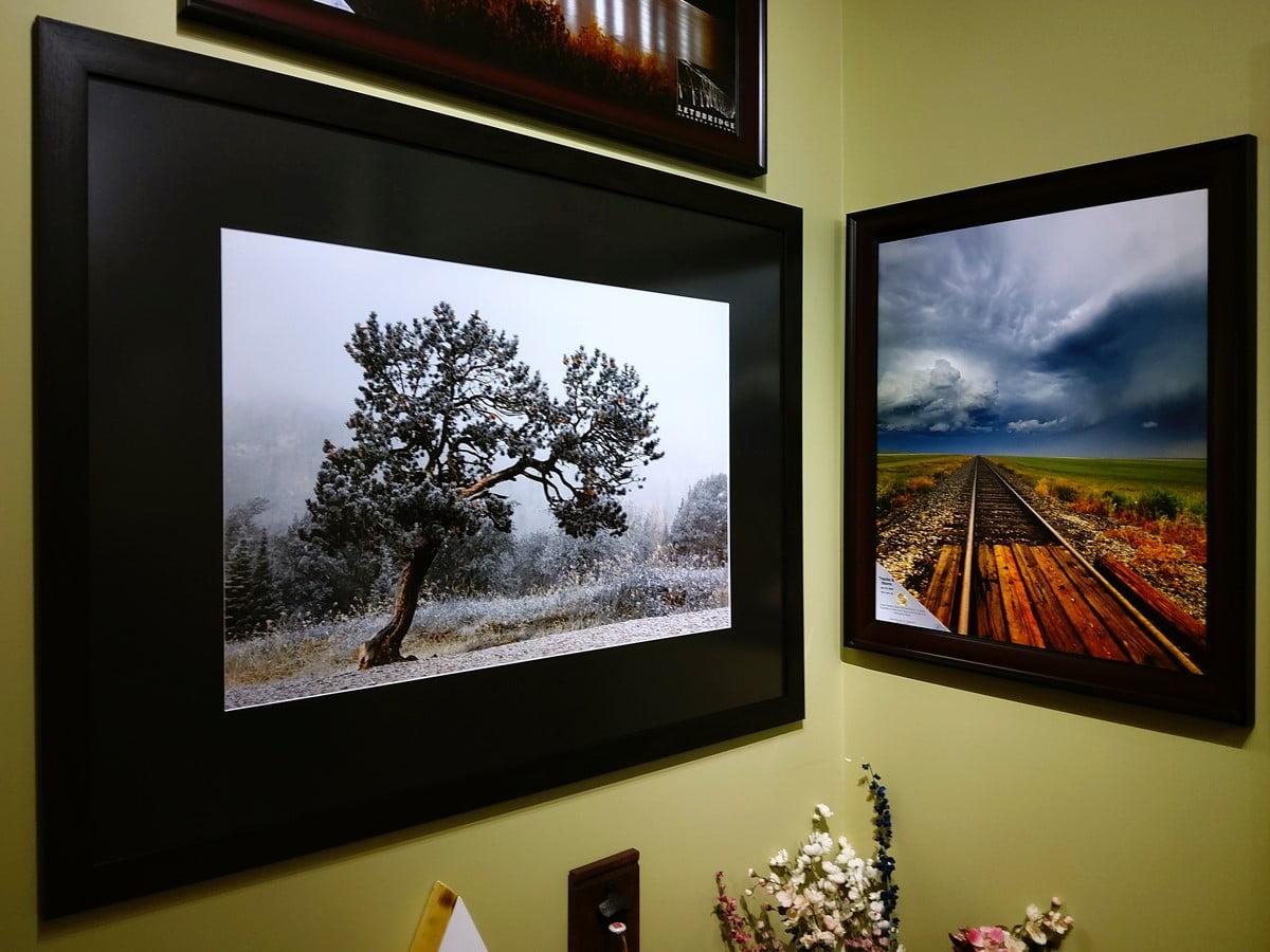 Order prints online, photo prints, Frames, framing, Lethbridge