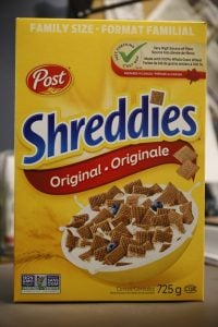 Shreddies and service!
