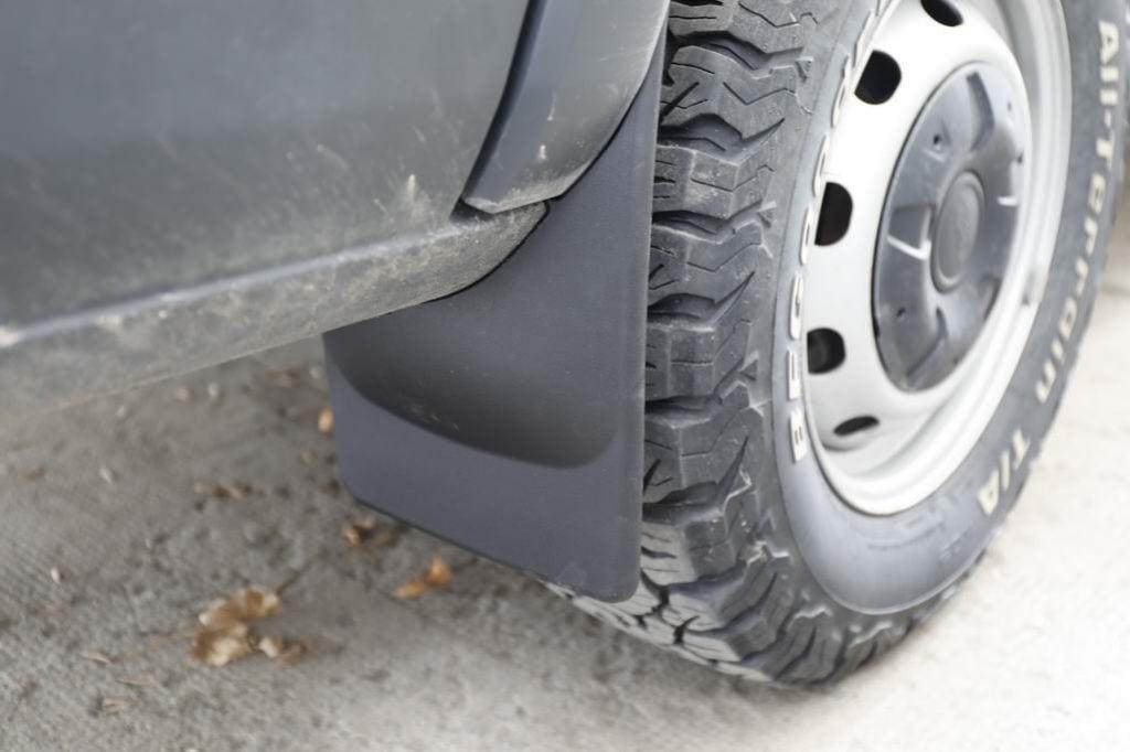 Rear mud flap