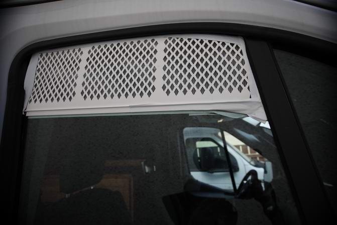 Air vent for passenger & driver windows.
