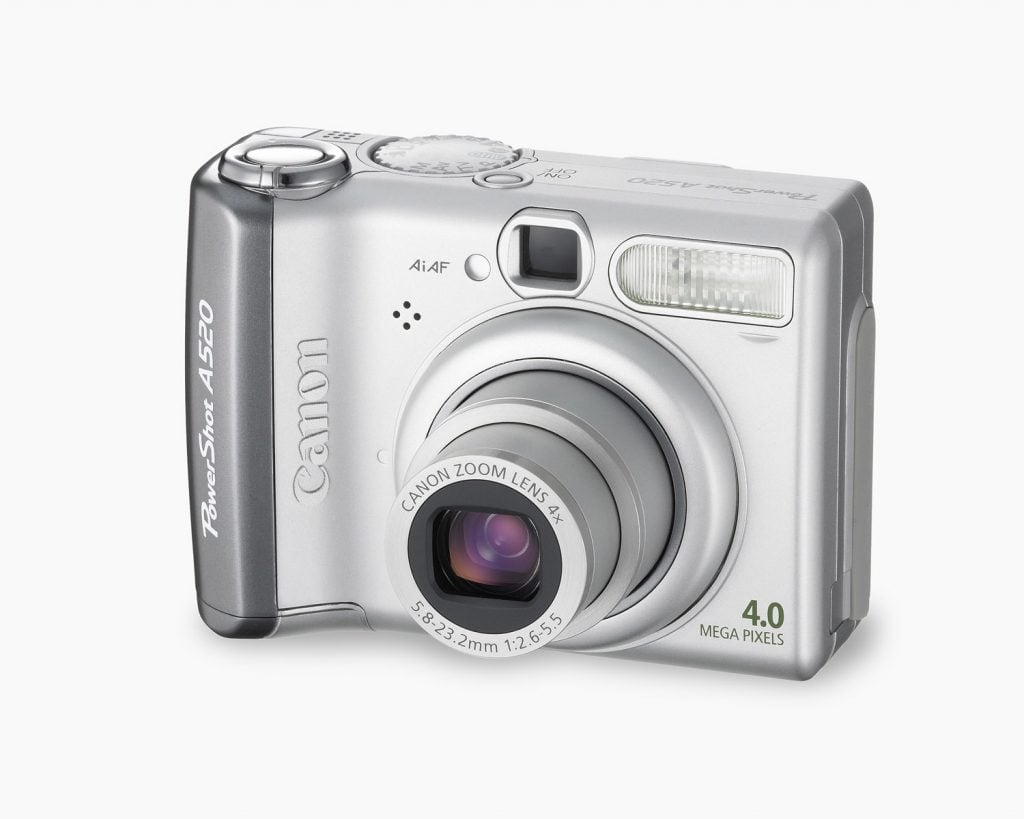 Point and shoot camera - all ages of cameras welcome
