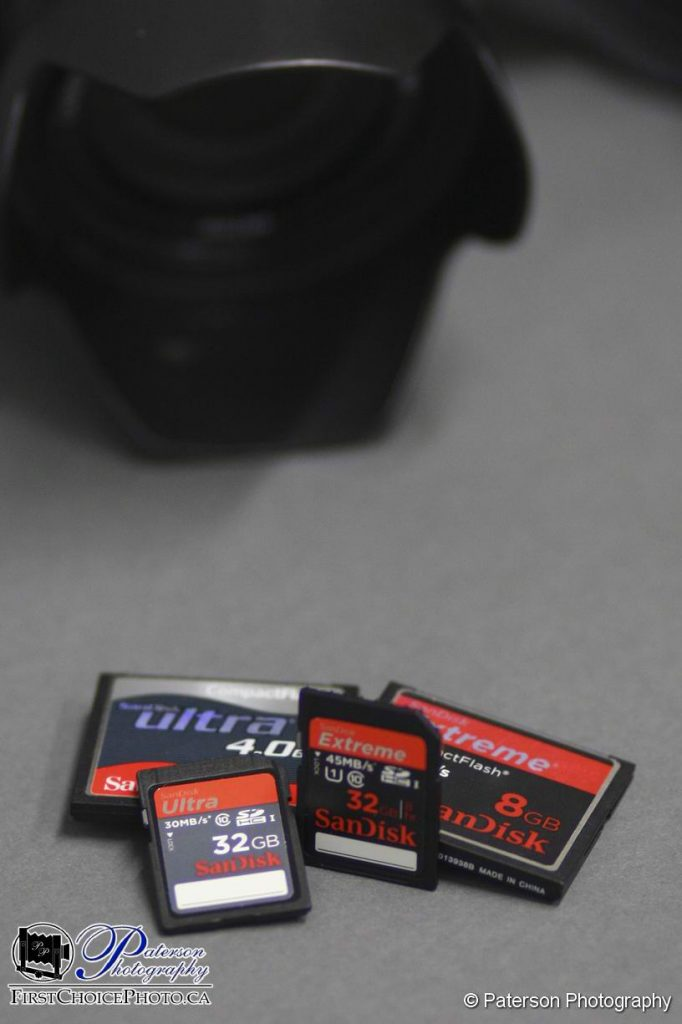Camera card recovery Lethbridge