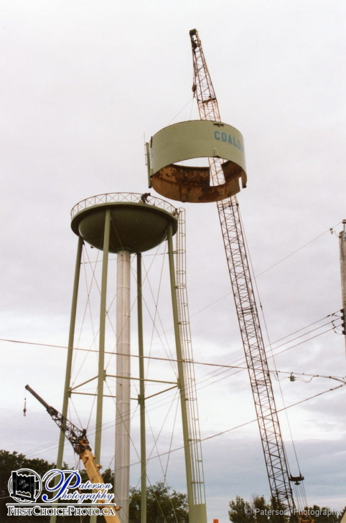 WTR3 Coaldale water tower