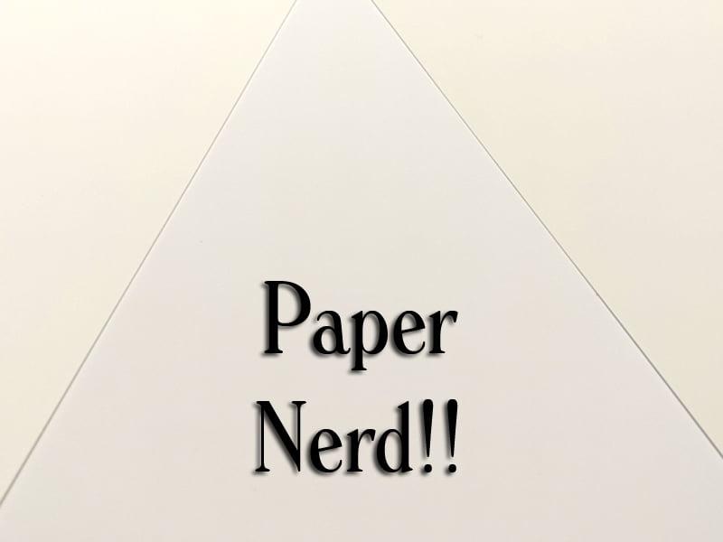 Paper Nerd