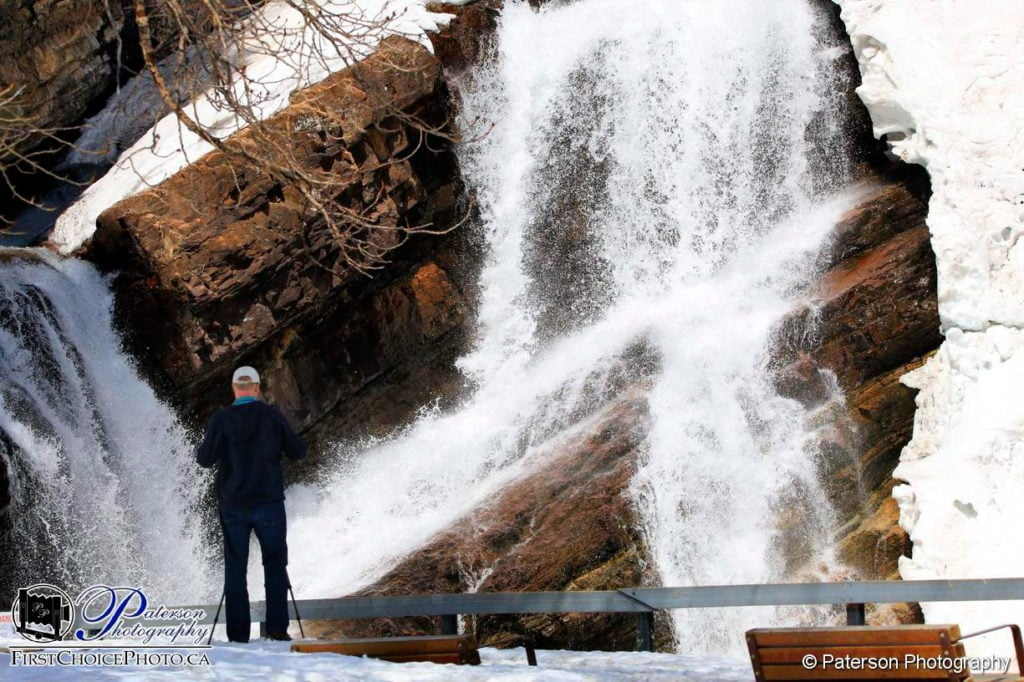 Cameron Falls Waterton