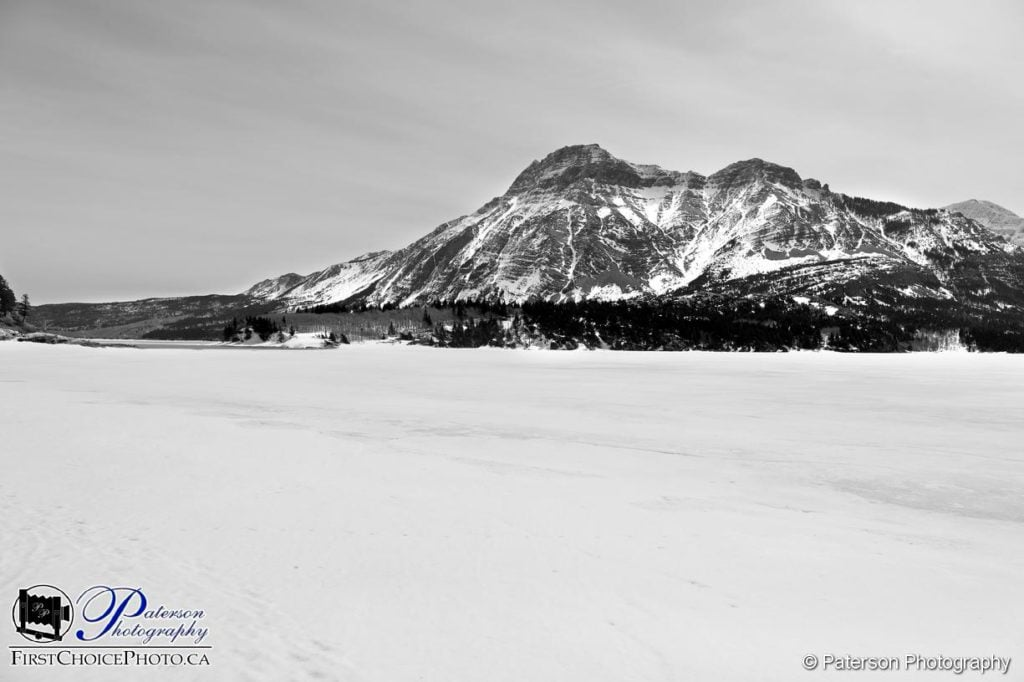Waterton Lakes Frozen