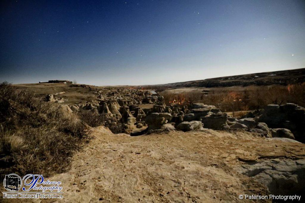 Writing on stone campground