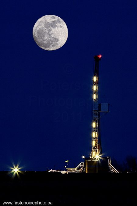 Moon & well